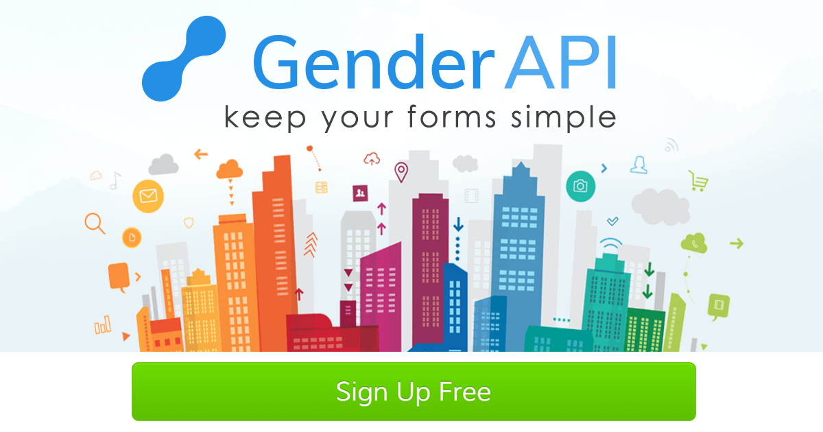 Gender API API Clients - Gender API - détermine le sexe de